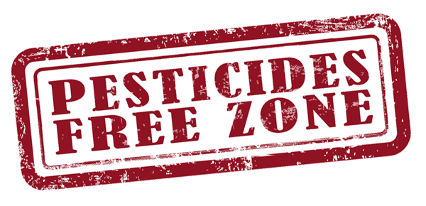 Image result for pesticide free zone